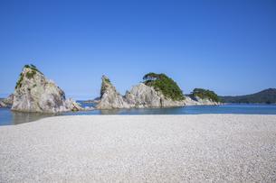 浄土ヶ浜の写真素材 [FYI04914885]