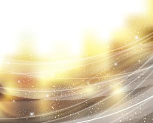 輝きとぼかしのグラデーション背景のイラスト素材 [FYI04915229]
