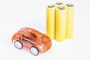 【EV】電気自動車 模型の写真素材 [FYI04915275]