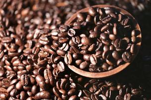 コーヒー豆の写真素材 [FYI04915299]