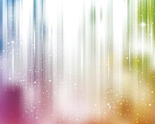 輝きとぼかしのカラーグラデーション背景のイラスト素材 [FYI04915815]