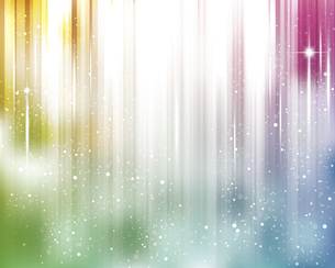 輝きとぼかしのカラーグラデーション背景のイラスト素材 [FYI04915849]