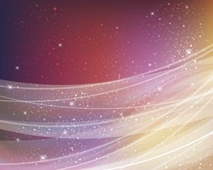 輝きとぼかしのカラーグラデーション背景のイラスト素材 [FYI04915855]