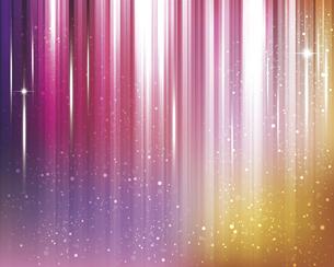 輝きとぼかしのカラーグラデーション背景のイラスト素材 [FYI04915862]