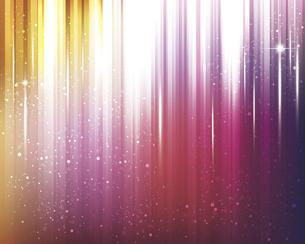 輝きとぼかしのカラーグラデーション背景のイラスト素材 [FYI04915895]