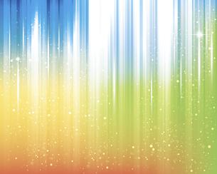 輝きとぼかしのカラーグラデーション背景のイラスト素材 [FYI04915929]