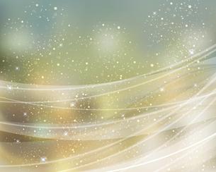 輝きとぼかしのカラーグラデーション背景のイラスト素材 [FYI04915930]