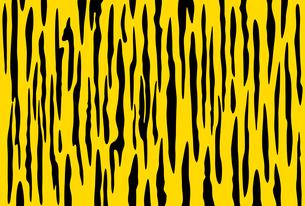 黄色と黒の虎柄模様のイラストのイラスト素材 [FYI04916274]