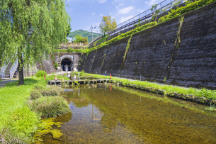 初夏の高森湧水トンネル公園の写真素材 [FYI04916372]