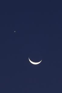 月と星の写真素材 [FYI04916467]