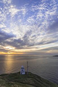 利尻島ペシ岬からの朝空の写真素材 [FYI04916797]