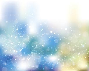 輝きとぼかしのグラデーション背景のイラスト素材 [FYI04917044]