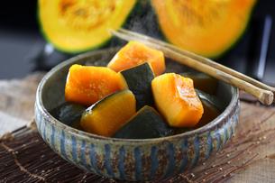 かぼちゃの煮物の写真素材 [FYI04917251]