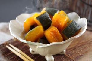 かぼちゃの煮物の写真素材 [FYI04917254]