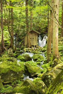 胴腹滝・鳥海山の写真素材 [FYI04917470]