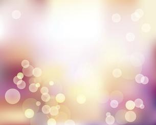 輝きとぼかしのピンクグラデーション背景のイラスト素材 [FYI04917868]