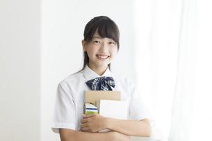 中学生のポートレートの写真素材 [FYI04917957]