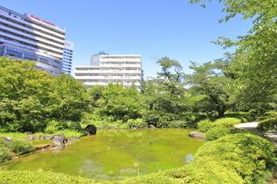 六本木ヒルズ 毛利庭園の写真素材 [FYI04917960]