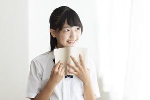 中学生のポートレートの写真素材 [FYI04917961]