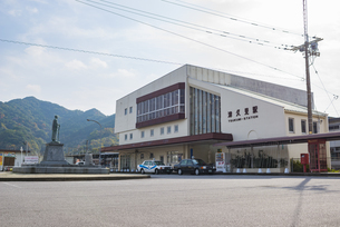 津久見駅の写真素材 [FYI04918439]