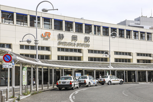 JR静岡駅南口風景の写真素材 [FYI04918471]