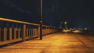 【香川県 高松市】夜のサンポート高松 高松港の写真素材 [FYI04918927]