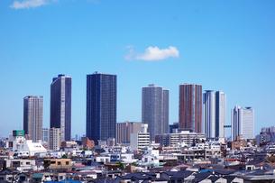神奈川県 武蔵小杉の高層マンション群の写真素材 [FYI04919319]