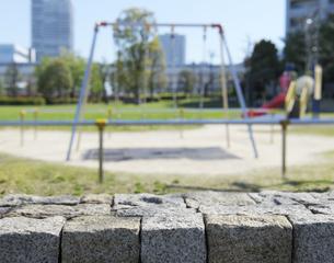 お台場レインボー公園の遊具広場の写真素材 [FYI04919869]