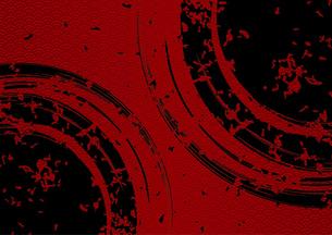 和柄と2つの円の背景のイラスト素材 [FYI04920420]