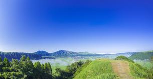 熊本県 風景 城山展望所よりの眺望 の写真素材 [FYI04920695]