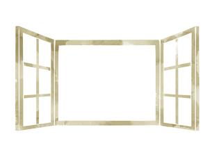 開いている窓のイラスト素材 [FYI04920767]