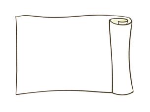 巻き物のイラスト素材 [FYI04920835]