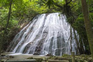 甑島 瀬尾の観音三滝の写真素材 [FYI04920892]
