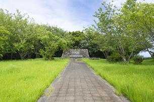 上甑島 亀城跡の写真素材 [FYI04920898]