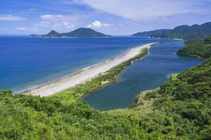 田之尻展望所からの長目の浜の写真素材 [FYI04920904]