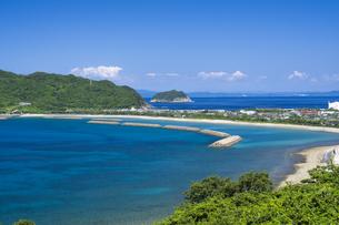 甑島 トンボロの風景の写真素材 [FYI04920930]