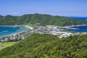 甑島 トンボロの風景の写真素材 [FYI04920931]
