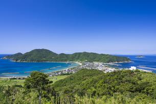 甑島 トンボロの風景の写真素材 [FYI04920932]
