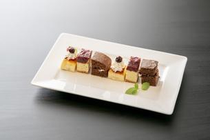 プチケーキの写真素材 [FYI04921027]