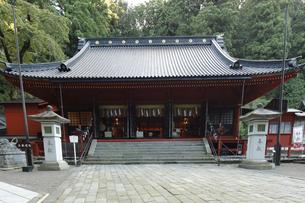 日光二荒山神社 二荒山神社の拝殿の写真素材 [FYI04921202]