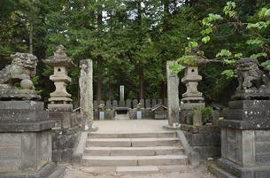 白虎隊十九士の墓所の写真素材 [FYI04921792]