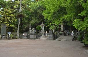 白虎隊十九士の墓所の写真素材 [FYI04921793]