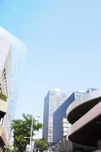 梅田のビル街の写真素材 [FYI04921913]