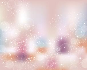 輝きとぼかしのグラデーション背景のイラスト素材 [FYI04922375]