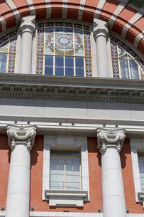 大阪市中央公会堂の赤レンガ壁の写真素材 [FYI04922391]