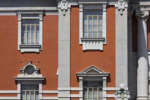 大阪市中央公会堂の赤レンガ壁の写真素材 [FYI04922397]