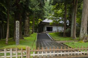 中尊寺金色堂の写真素材 [FYI04922446]