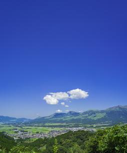 熊本県 風景 高森峠展望所よりの眺望 の写真素材 [FYI04922468]
