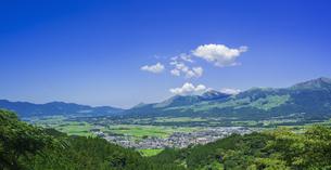 熊本県 風景 高森峠展望所よりの眺望 の写真素材 [FYI04922473]