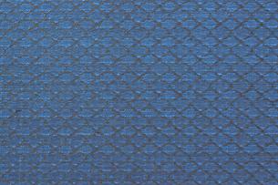 青色の布背景の写真素材 [FYI04922481]
